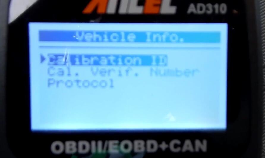 Ancel AD310 Scanner View on Chevrolet Silverado (13)