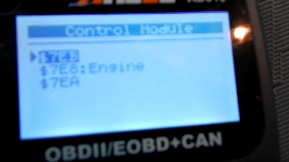 Ancel AD310 Scanner View on Chevrolet Silverado (5)
