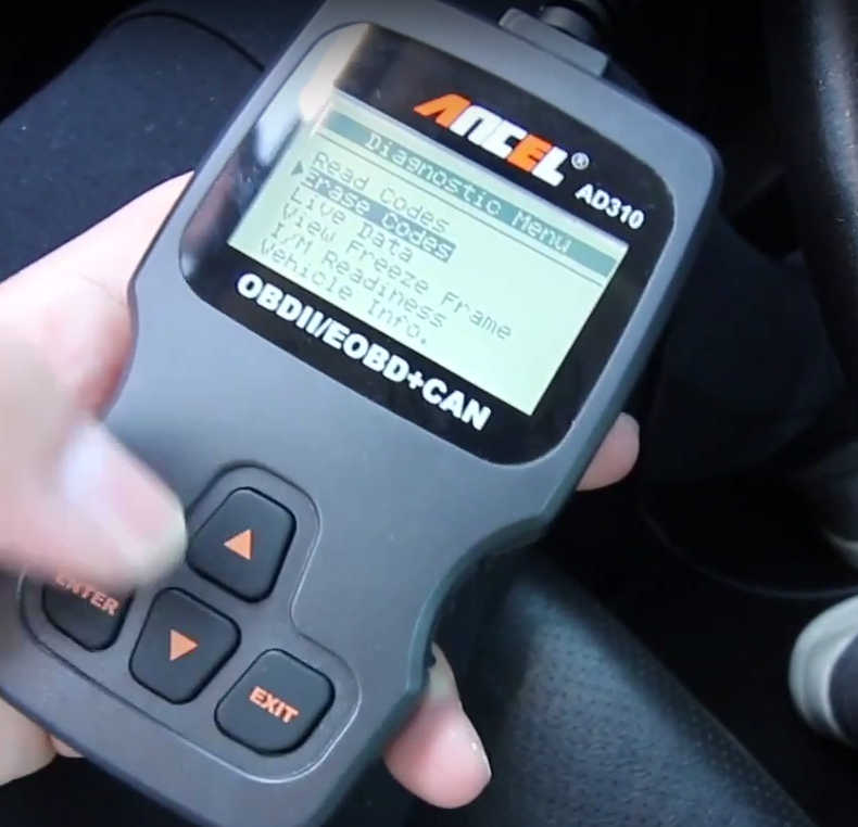 How to Use Ancel AD310 to Read & Erase DTC for Hyundai (11)