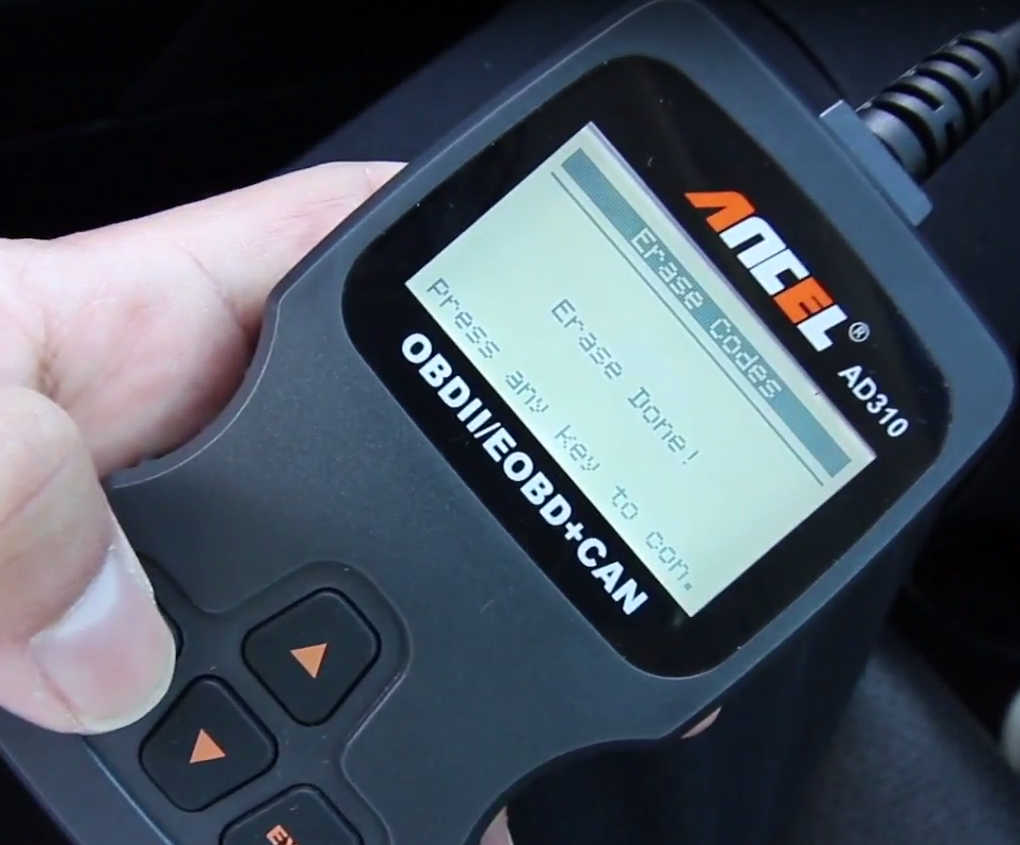 How to Use Ancel AD310 to Read & Erase DTC for Hyundai (12)