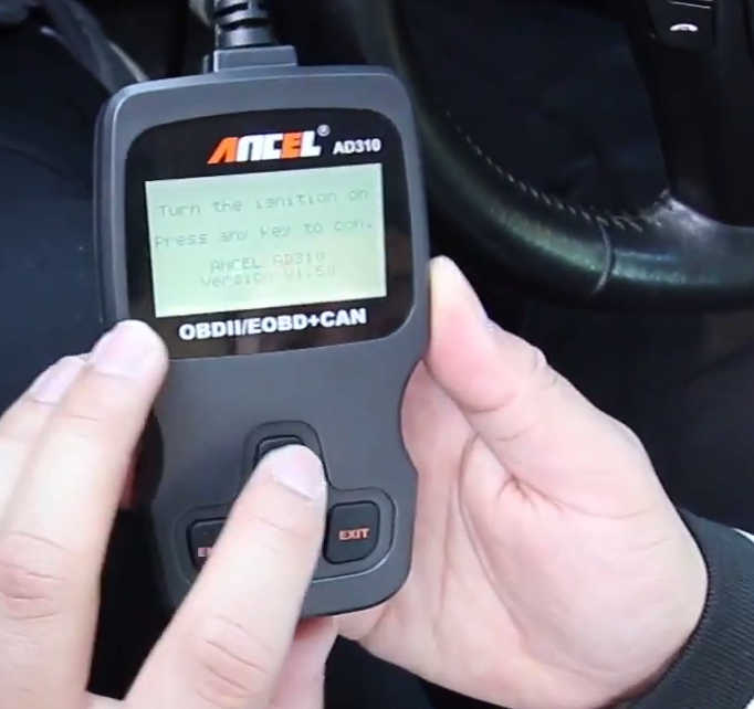 How to Use Ancel AD310 to Read & Erase DTC for Hyundai (3)