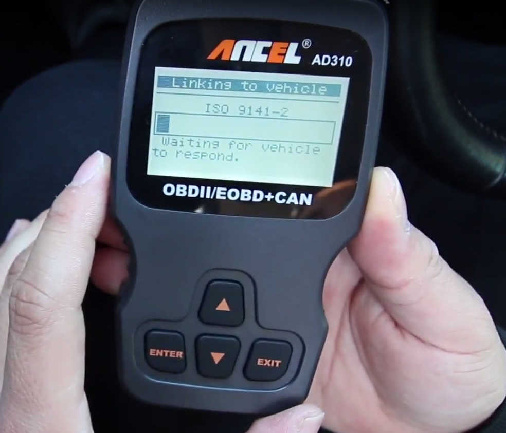 How to Use Ancel AD310 to Read & Erase DTC for Hyundai (4)