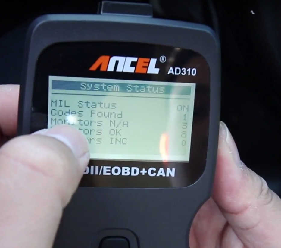 How to Use Ancel AD310 to Read & Erase DTC for Hyundai (5)