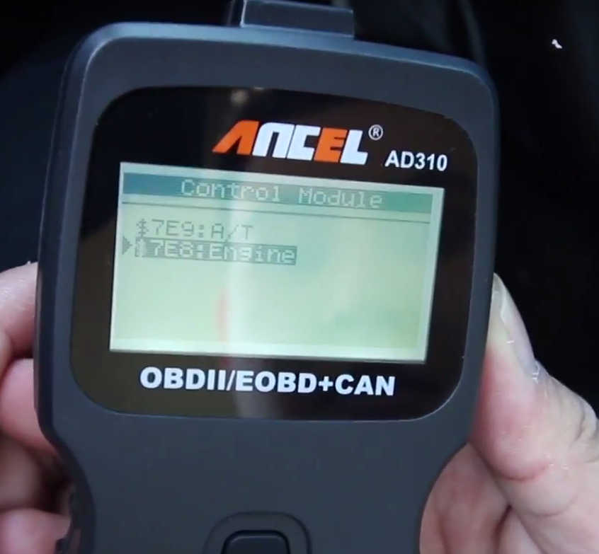 How to Use Ancel AD310 to Read & Erase DTC for Hyundai (7)