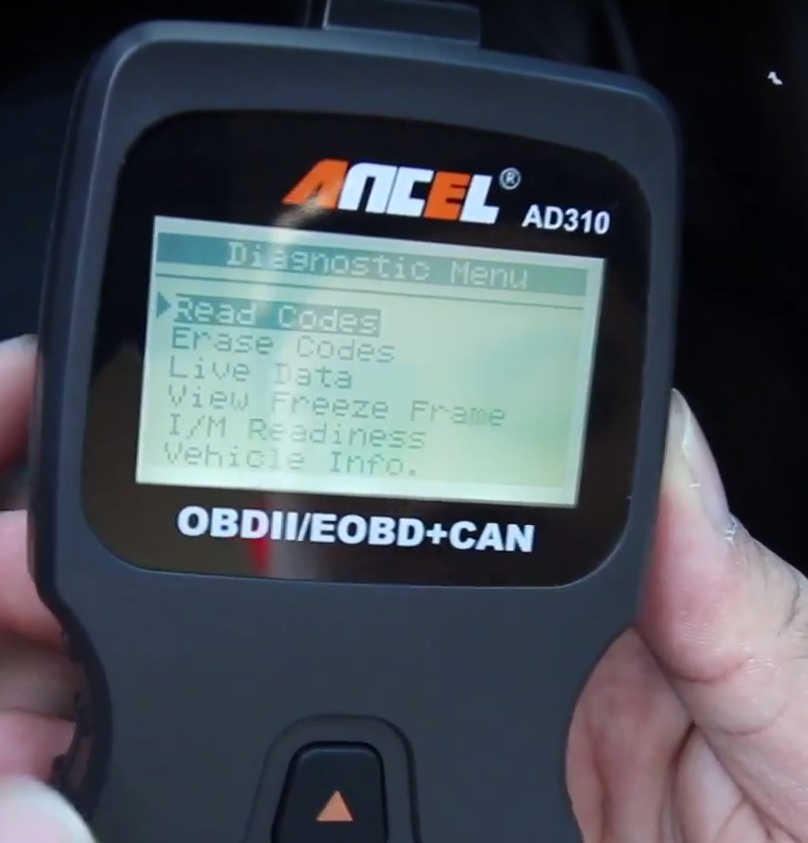 How to Use Ancel AD310 to Read & Erase DTC for Hyundai (8)