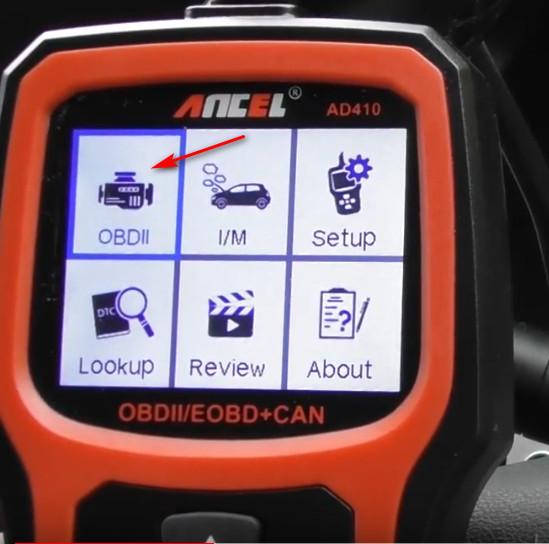 Ancel AD410 Reset Mercedes Benz Check Engine Light ON (2)
