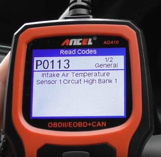 Ancel AD410 Reset Mercedes Benz Check Engine Light ON (6)