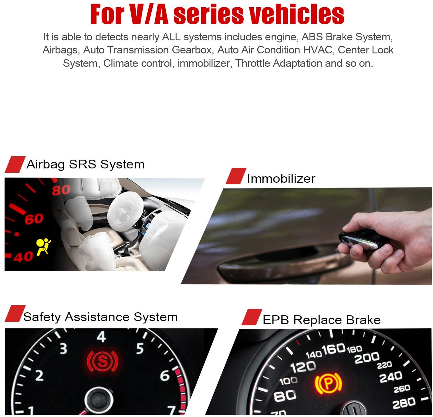 Ancel VD500 OBD2 Diagnostic Scanner (2)